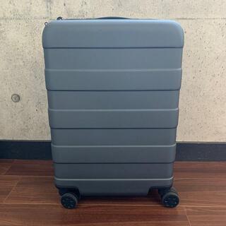 ムジルシリョウヒン(MUJI (無印良品))のキャリーバーの高さを自由に調節できるハードキャリーケース(36L) ダークグレー(トラベルバッグ/スーツケース)