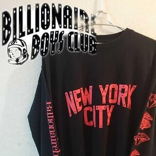 ビリオネアボーイズクラブ(BBC)の【Billionaireboysclub】スウェット ロングTシャツ(スウェット)