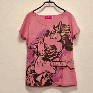Disney - ロックなミニーちゃんTシャツ