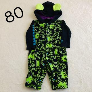 BABYDOLL ロンパース ミッキー 80