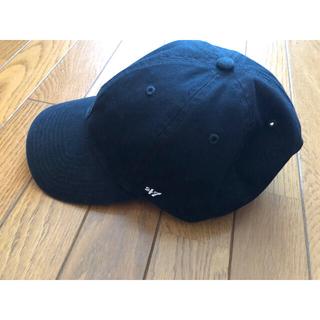 ニューエラー(NEW ERA)の47 フォーティセブン キャップ 帽子 ブラック 黒 シンプル(キャップ)