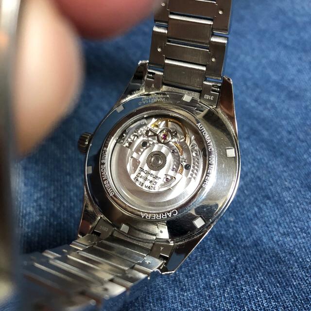 TAG Heuer(タグホイヤー)のタグホイヤー カレラ キャリバー5 メンズの時計(腕時計(アナログ))の商品写真