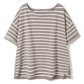 GRL - 袖ロールアップボーダーTシャツ