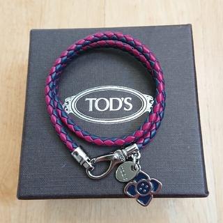 トッズ(TOD'S)のTOD'S チャーム付きレザーブレスレット(ブレスレット/バングル)