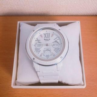 ベビージー(Baby-G)のG-SHOCK Baby-G ホワイト レディース (腕時計)