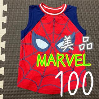マーベル(MARVEL)のMARVEL スパイダーマン タンクトップ 4T(4歳) 100cm~110cm(Tシャツ/カットソー)