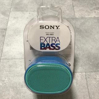 SONY - ソニー ワイヤレスポータブルスピーカー SRS-XB01 L