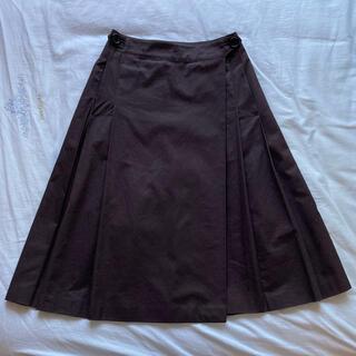 マーガレットハウエル(MARGARET HOWELL)のmargaret howell  巻きスカート(ひざ丈スカート)