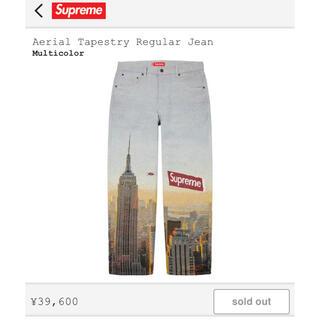 Supreme - Supreme Aerial Tapestry Regular Jean 30