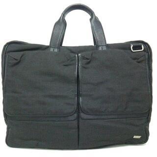 ダンヒル(Dunhill)のダンヒル ビジネスバッグ 黒×グレー(ビジネスバッグ)