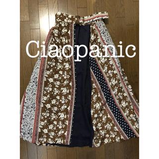 チャオパニック(Ciaopanic)のチャオパニック✳︎美品✳︎巻きロングスカート(ロングスカート)