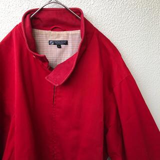 エクストララージ(XLARGE)のX-LARGE エクストララージ スイングトップ ジャケット 赤 ドリズラー L(ブルゾン)