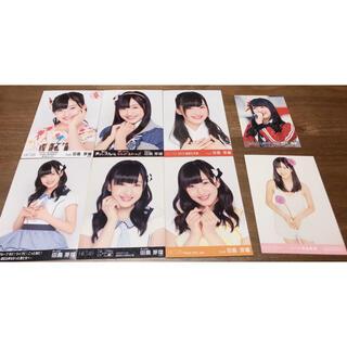 エイチケーティーフォーティーエイト(HKT48)のHKT48 田島芽瑠生写真8枚セット+おまけ(アイドルグッズ)