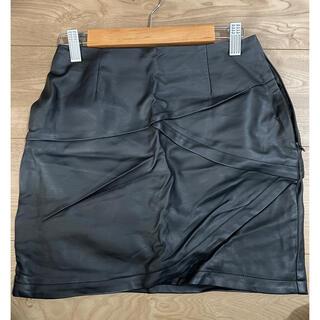 リゼクシー(RESEXXY)のレザースカート(ミニスカート)