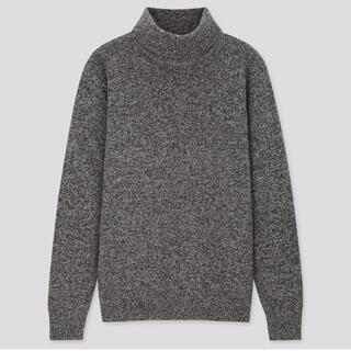 ユニクロ(UNIQLO)のUNIQLO プレミアムラム タートルネックセーター(ニット/セーター)
