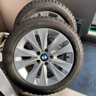 ビーエムダブリュー(BMW)の本日売り切り価格! BMW純正アルミ スタッドレスタイヤ 4本 セット(タイヤ・ホイールセット)