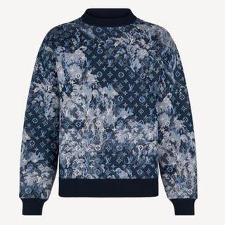ルイヴィトン(LOUIS VUITTON)の顧客先行新品本物タペストリーモノグラムスウェットシャツ3L(スウェット)