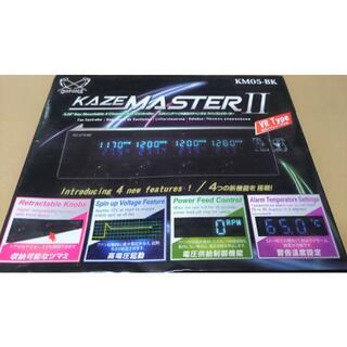 エイスース(ASUS)の新品 KAZE MASTER II KM05-BK 4CHファンコントローラー(PCパーツ)