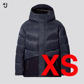 ジルサンダー(Jil Sander)のユニクロ ジルサンダー ハイブリッドダウンジャケット ネイビー XS +J(ダウンジャケット)
