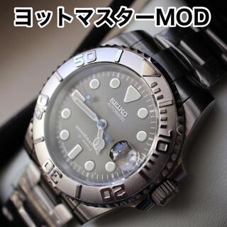 セイコー(SEIKO)のSEIKO NH35搭載 カスタム 腕時計 MOD ヨットマスター タイプ(腕時計(アナログ))