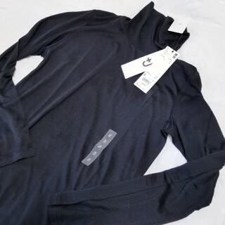 ジルサンダー(Jil Sander)の+J プラスジェイ ジルサンダー ユニクロ シルクジャージータートルネック(Tシャツ(長袖/七分))