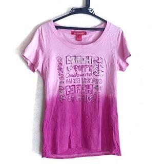 コーチ(COACH)のコーチ 半袖Tシャツ サイズM レディース -(Tシャツ(半袖/袖なし))