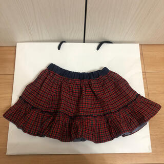 familiar - 【現行商品】ファミリア  リバーシブルスカート