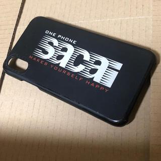 サカイ(sacai)のsacai casetify iPhone x/xs ケース 限定 ブラック(iPhoneケース)