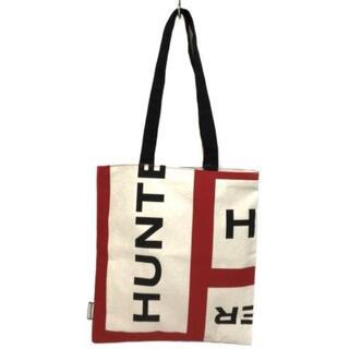 ハンター(HUNTER)のハンター トートバッグ美品  - キャンバス(トートバッグ)