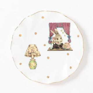 フランシュリッペ(franche lippee)のfranchelippee フランシュリッペ  陶器 お皿 プレート うさぎ (食器)