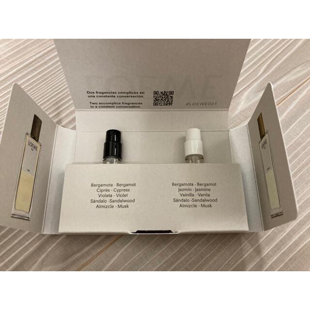 LOEWE(ロエベ)のLOEWE 香水サンプル + ステッカー コスメ/美容の香水(ユニセックス)の商品写真