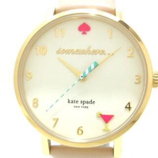 ケイトスペードニューヨーク(kate spade new york)のケイト 腕時計美品  - レディース(腕時計)
