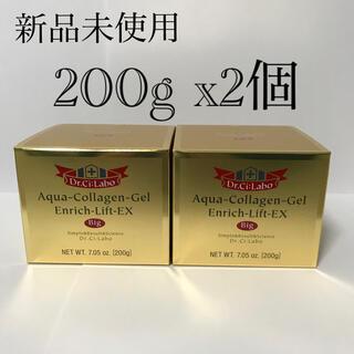 ドクターシーラボ(Dr.Ci Labo)のドクターシーラボ アクアコラーゲンゲルエンリッチリフトEX 200g 2個セット(オールインワン化粧品)