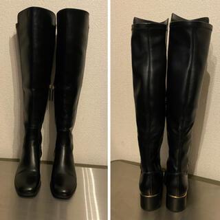 ザラ(ZARA)のZARAザラ ロングブーツ ニーハイ 24センチ(ブーツ)