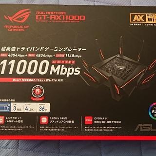 エイスース(ASUS)のGT-AX11000 Wi-Fiルーター(PC周辺機器)