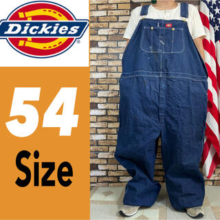 ディッキーズ(Dickies)の超ビッグサイズ ディッキーズ オーバーオール 54サイズ 2102(サロペット/オーバーオール)