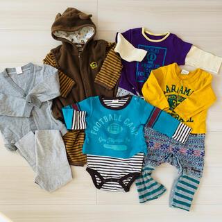 エフオーキッズ(F.O.KIDS)のベビー服 ロンパース まとめ売り 70〜80cm(ロンパース)