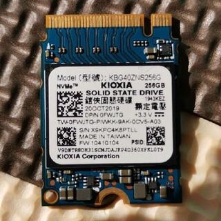 レア商品 KIOXIA Type 2230  NVMe 256GB SSD(PCパーツ)