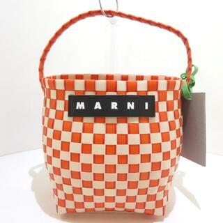 マルニ(Marni)のマルニ ハンドバッグ美品  FLOWER CAFE(ハンドバッグ)