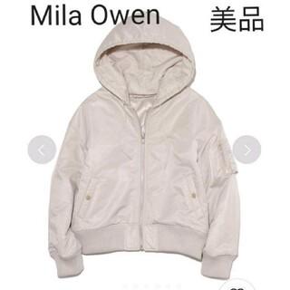 ミラオーウェン(Mila Owen)のミラオーウェン MA-1 ライトグレー(ブルゾン)