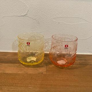 イッタラ(iittala)のiittala frutta フルッタ レモン、サーモンピンク 未使用 (グラス/カップ)