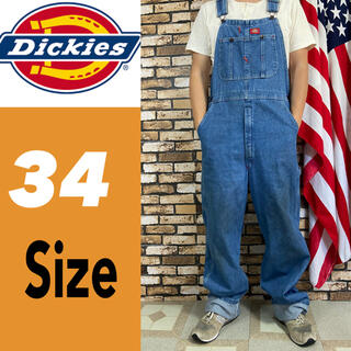 ディッキーズ(Dickies)のディッキーズ オーバーオール 34サイズ 2103(サロペット/オーバーオール)