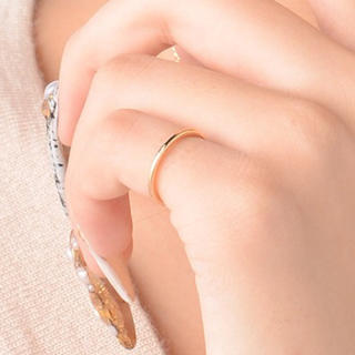 ゴールド ピンキーリング 指輪(リング(指輪))