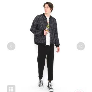 グラニフ(Design Tshirts Store graniph)のグラニフ ドロップショルダーリバーシブルブルゾン (ブルゾン)