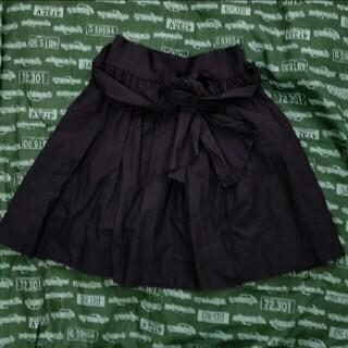 アニエスベー(agnes b.)のリボン付きミニスカート(ミニスカート)