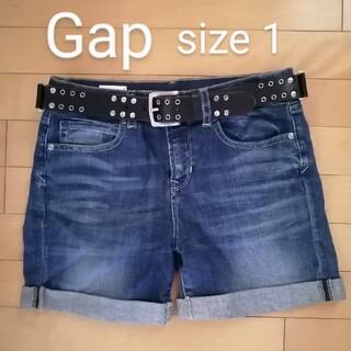 ギャップ(GAP)のGap size1 デニムショートパンツ(ショートパンツ)