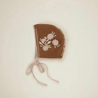 キャラメルベビー&チャイルド(Caramel baby&child )のapolina  ボンネット 新品未使用(帽子)