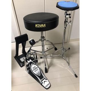 パール(pearl)のドラム練習パッド、ドラムスローン、ドラムフットペダル・パッド(その他)