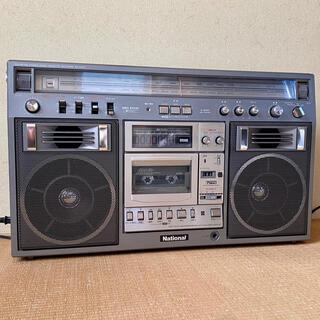 パナソニック(Panasonic)のNational RX-5400 ステレオラジオカセットレコーダー ジャンク(ラジオ)