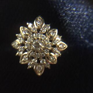 イエローゴールド ダイヤモンドリング(リング(指輪))
